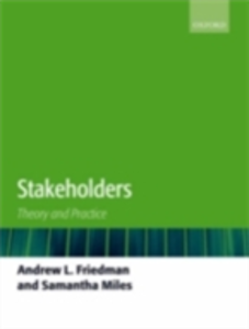 Ebook in inglese Stakeholders: Theory and Practice Friedman, Andrew L. , Miles, Samantha