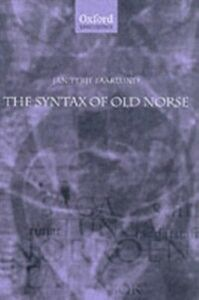 Foto Cover di Syntax of Old Norse: With a survey of the inflectional morphology and a complete bibliography, Ebook inglese di Jan Terje Faarlund, edito da OUP Oxford