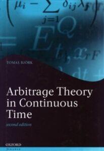 Foto Cover di Arbitrage Theory in Continuous Time, Ebook inglese di Tomas Bjork, edito da OUP Oxford