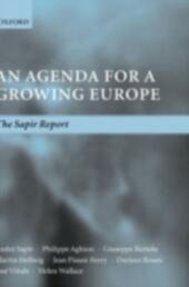 Agenda for a Growing Europe: The Sapir Report