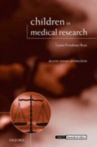 Ebook in inglese Children in Medical Research: Access versus Protection Ross, Lainie Friedman