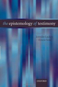 Ebook in inglese Epistemology of Testimony