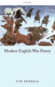 Ebook in inglese Modern English War Poetry Kendall, Tim