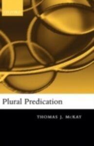 Ebook in inglese Plural Predication McKay, Thomas