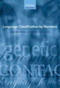 Foto Cover di Language Classification by Numbers, Ebook inglese di April McMahon,Robert McMahon, edito da OUP Oxford