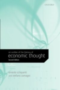 Ebook in inglese Outline of the History of Economic Thought Screpanti, Ernesto , Zamagni, Stefano