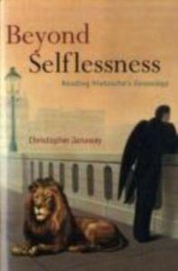 Ebook in inglese Beyond Selflessness: Reading Nietzsche's Genealogy Janaway, Christopher