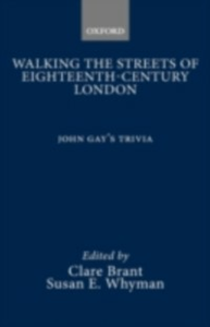 Ebook in inglese Walking the Streets of Eighteenth-Century London Brant, Clare , Whyman, Susan E.