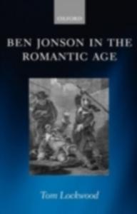 Ebook in inglese Ben Jonson in the Romantic Age Lockwood, Tom