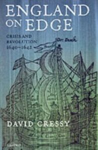 Ebook in inglese England on Edge: Crisis and Revolution 1640-1642 Cressy, David