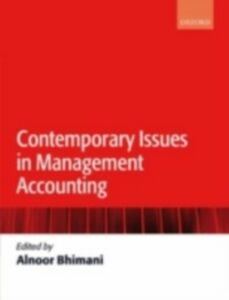 Ebook in inglese Contemporary Issues in Management Accounting -, -
