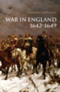 Ebook in inglese War in England 1642-1649 Donagan, Barbara
