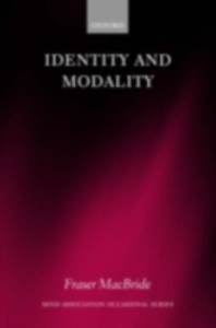 Ebook in inglese Identity and Modality -, -