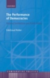 Performance of Democracies: Political Institutions and Public Policy