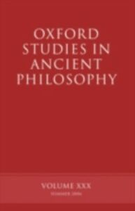 Ebook in inglese Oxford Studies in Ancient Philosophy XXX Sedley, David