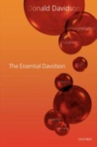 Foto Cover di Essential Davidson, Ebook inglese di DAVIDSON DONALD, edito da Oxford University Press