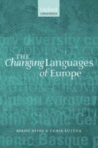 Ebook in inglese Changing Languages of Europe Heine, Bernd , Kuteva, Tania