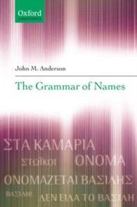 Ebook in inglese Grammar of Names Anderson, John M.