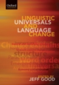 Ebook in inglese Linguistic Universals and Language Change -, -