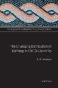 Foto Cover di Changing Distribution of Earnings in OECD Countries, Ebook inglese di A B Atkinson, edito da OUP Oxford
