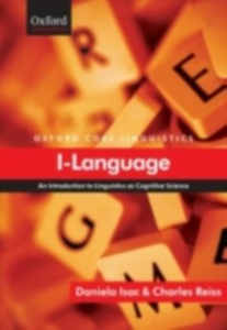 Ebook in inglese I-Language An Introduction to Linguistics as Cognitive Science DANIELA, ISAC