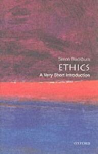 Ebook in inglese Ethics: A Very Short Introduction Blackburn, Simon