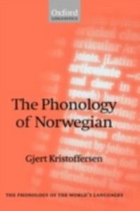 Ebook in inglese Phonology of Norwegian Kristoffersen, Gjert