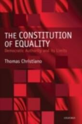 Constitution of Equality: Democratic Authority and Its Limits