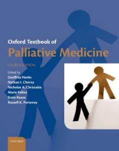 Ebook in inglese Oxford Textbook of Palliative Medicine -, -