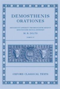 Ebook in inglese Demosthenis Orationes IV