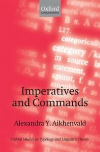 Ebook in inglese Imperatives and Commands Aikhenvald, Alexandra Y.