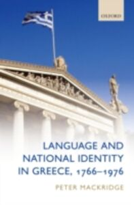 Ebook in inglese Language and National Identity in Greece, 1766-1976 Mackridge, Peter