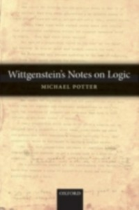 Ebook in inglese Wittgenstein's Notes on Logic Potter, Michael