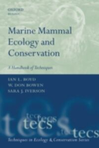 Ebook in inglese Marine Mammal Ecology and Conservation: A Handbook of Techniques -, -