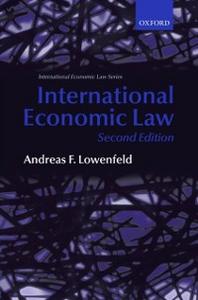 Ebook in inglese International Economic Law Lowenfeld, Andreas F.