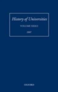 Ebook in inglese History of Universities: Volume XXII/2 -, -