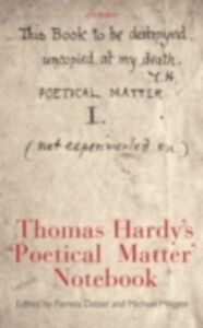 Ebook in inglese Thomas Hardy's 'Poetical Matter' Notebook