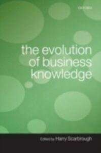 Foto Cover di Evolution of Business Knowledge, Ebook inglese di  edito da OUP Oxford