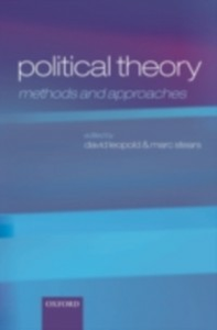 Ebook in inglese Political Theory: Methods and Approaches -, -