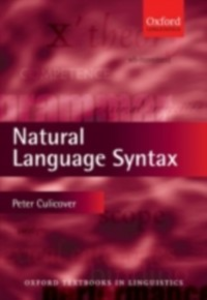 Ebook in inglese Natural Language Syntax Culicover, Peter W.