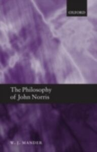 Ebook in inglese Philosophy of John Norris Mander, W. J.