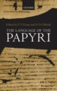Ebook in inglese Language of the Papyri -, -
