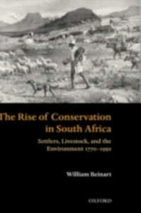 Ebook in inglese Rise of Conservation in South Africa Beinart, William