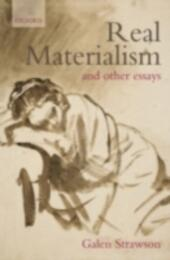 Real Materialism: and Other Essays