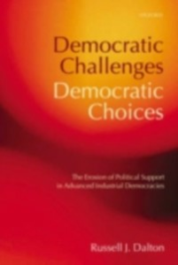 Ebook in inglese Democratic Challenges, Democratic Choices J, DALTON RUSSELL
