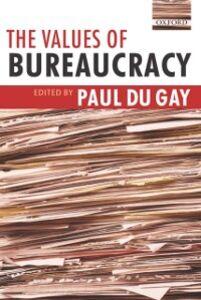 Ebook in inglese Values of Bureaucracy -, -
