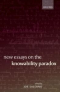 Ebook in inglese New Essays on the Knowability Paradox -, -