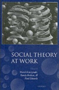 Ebook in inglese Social Theory at Work
