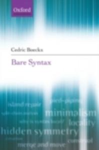 Ebook in inglese Bare Syntax Boeckx, Cedric