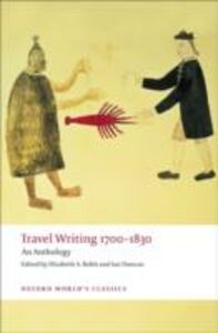 Ebook in inglese Travel Writing 1700-1830 -, -